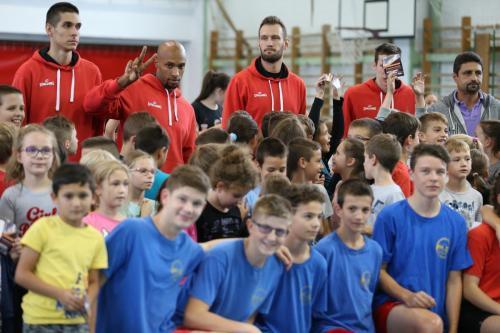 Többszáz gyerek a kosaras toborzón