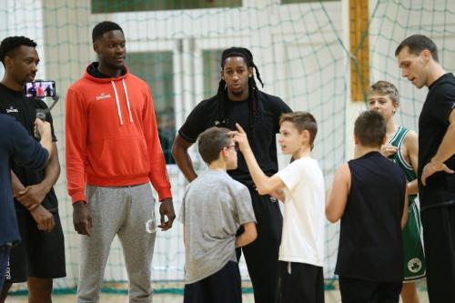 Közös edzés a Szolnoki Sportiskola U13-as csapatával
